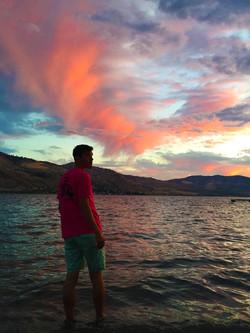 Lake Chelan Colored