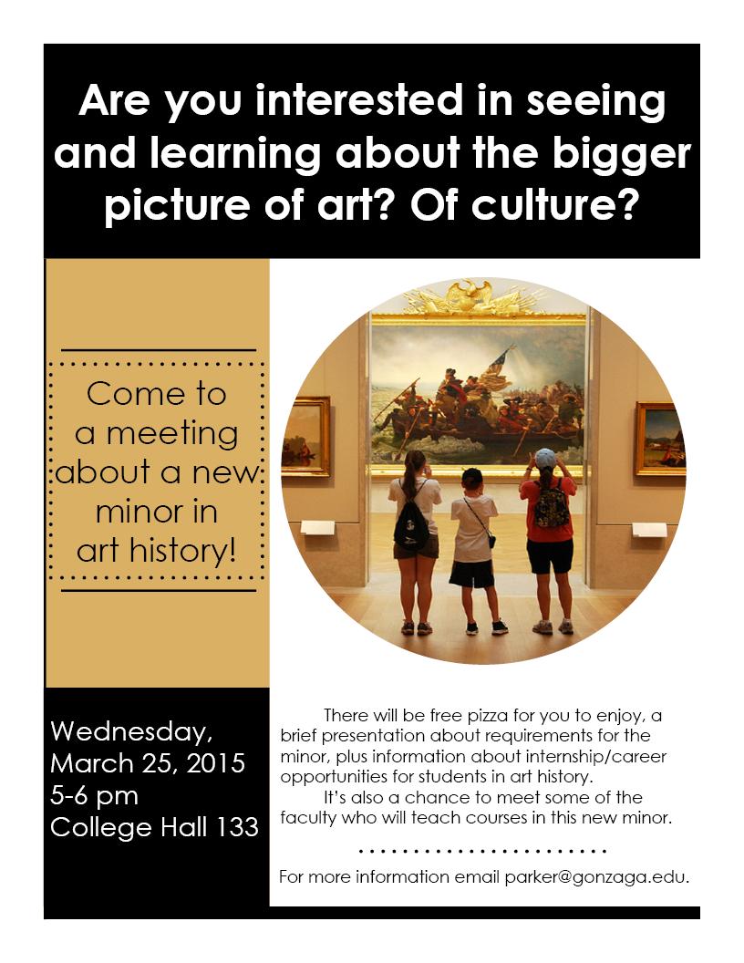 Art History Flyer