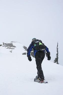 Hurricane Ridge Snowshoeing