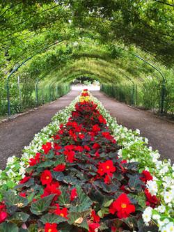 Point Defiance Rose Garden Entrance