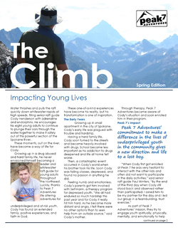 Peak 7 Adventures Newsletter