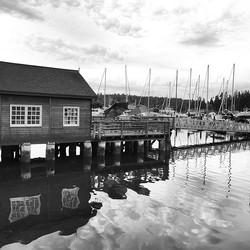 Dock b/w