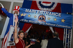 Political themed bar mitzvah