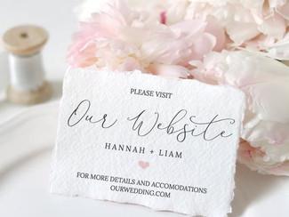 Wedding Websites!