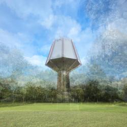 Luxembourg // Wasserturm