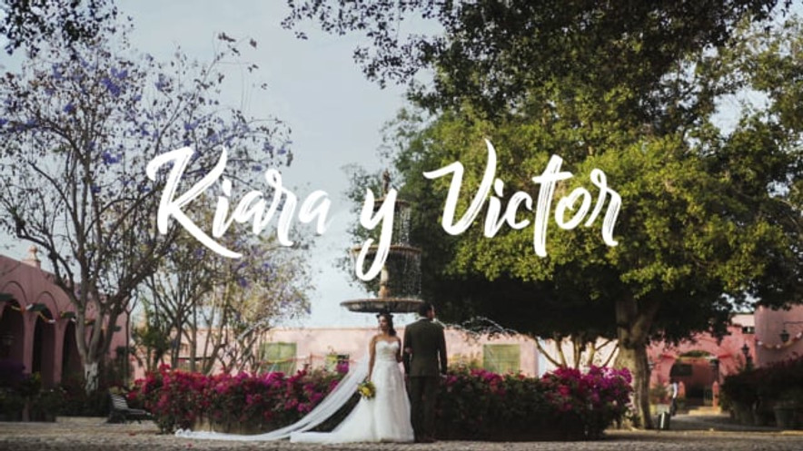 The wedding of Kiara and Victor at Tacama, Ica
