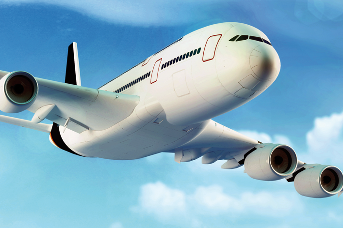 ont i örat efter flyg