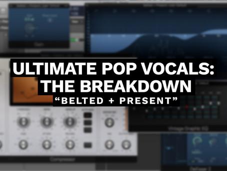 ULTIMATE POP VOCALS: THE BREAKDOWN