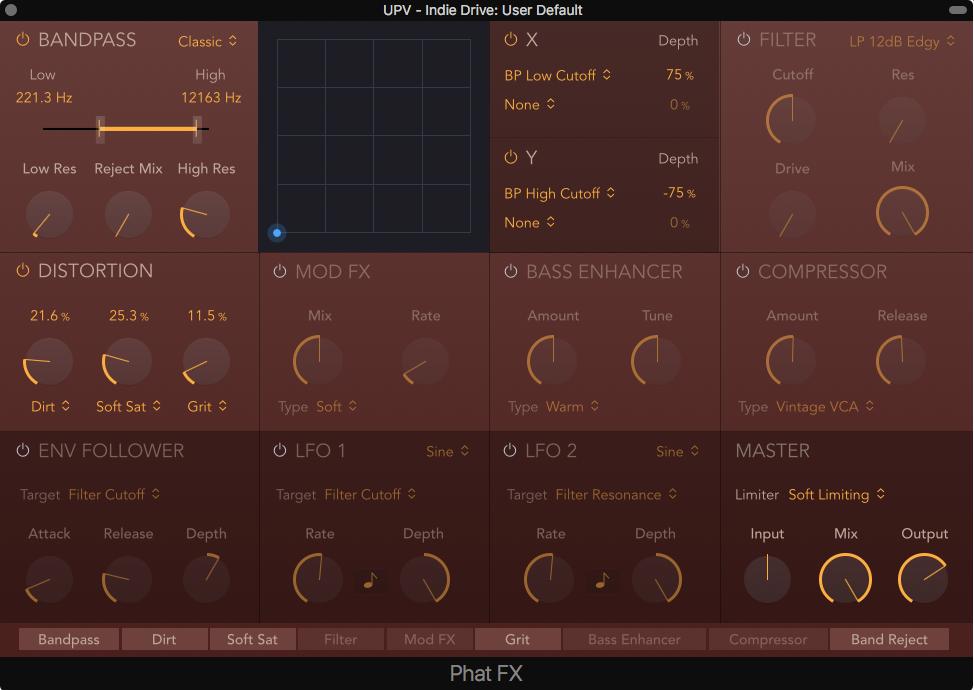 Phat FX plugin