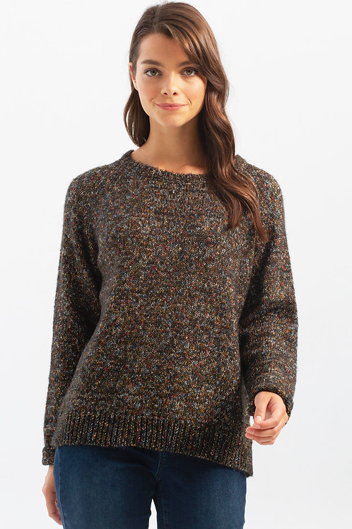 Charlie B Mixed Colored Knit Sweater