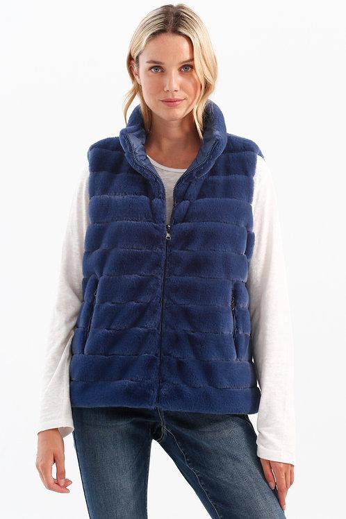 Charlie B Reversible Puffer Vest