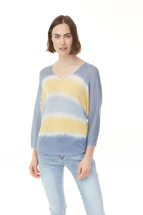 CHARLIE B OMBRE KNIT SWEATER