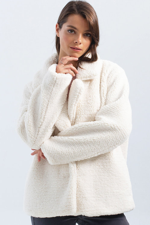 Charlie B Teddy Fur Coat