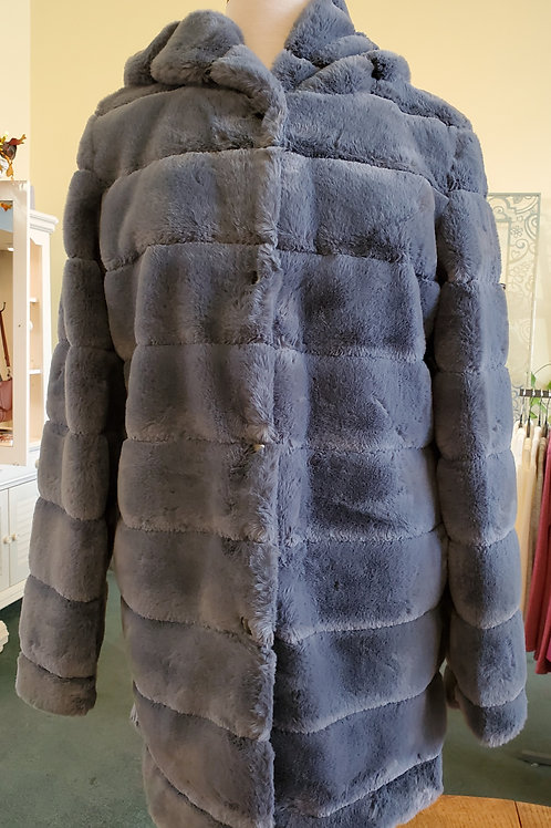 Carre Noir Faux Fur Coat