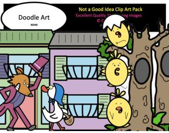 Not a Good Idea Clip Art Pack