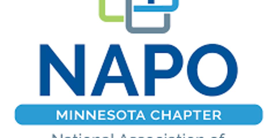 NAPO-MN Get Organized Month - Monday, January 11, 2021