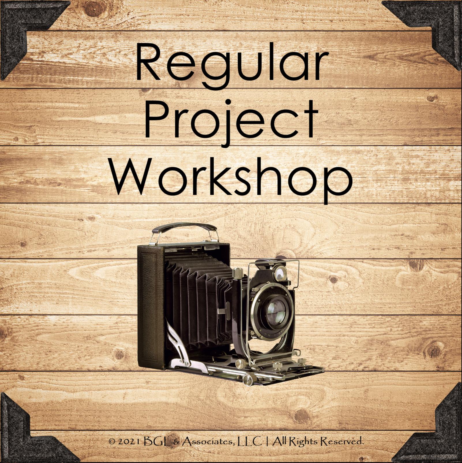 Regular Project Workshop