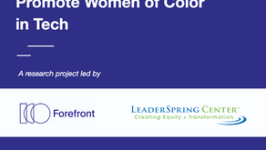 The Need for Culture Change - A Roadmap to Advance & Promote Women of Color in Tech