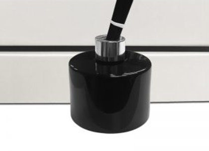 100ml Black/Silver Lid Reed Diffuser Set
