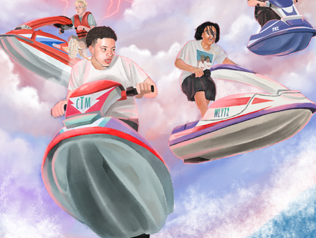 INTERNET MONEY IS BACK WITH 'JETSKI' FEATURING LIL TECCA & LIL MOSEY