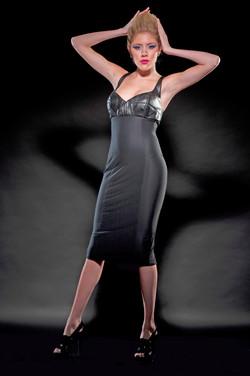 BRALETTE PENCIL DRESS