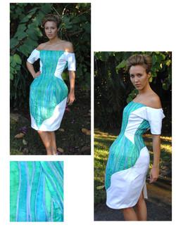 MC ESCHER INSPIRED BULB DRESS