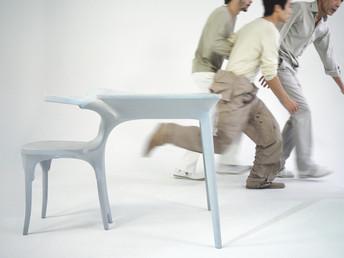 kokon table chair Jurgen Bey