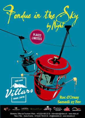 Visuel Fondue in the Sky Villars