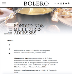 Bolero - Jan 2017