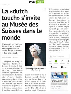 Dutch Touch - Tribune de Geneve
