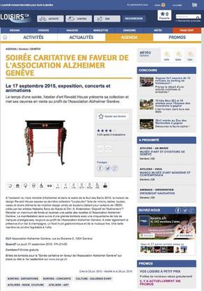 Article Loisirs.ch