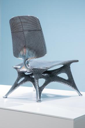 Joris Laarman Gradient Aluminium Chair, Prototype 3, 2014