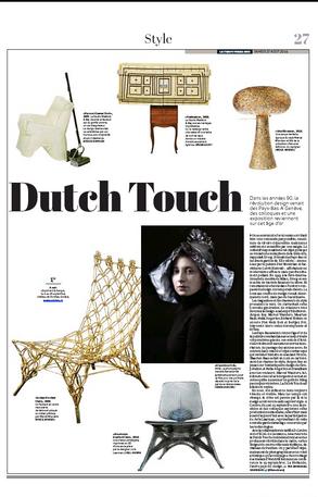 Le Temps Article by Emmanuel Grandjean