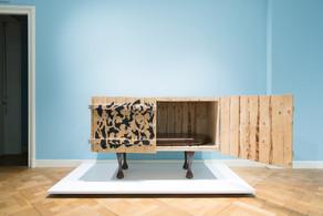 Jurgen Bey Table Cratecupboard, piece unique, 2014