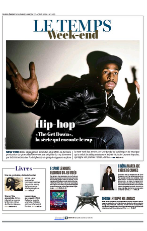 Le Temps - Weekend Cover