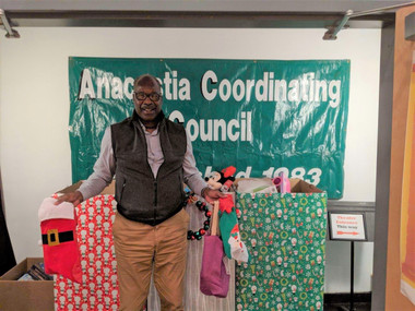 #ATCSCI Employee and Anacostia Coordinating Council Board Member Keith Credit participates in the To
