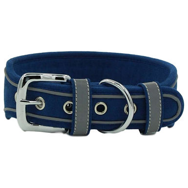 Pet Collar for Dogs Comfortable Wear-Resistant Reflective  With D Shaped Ring