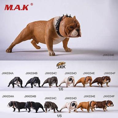 FJXK Studio 1:6 JXK034 Bully Pitbull Dog Animal Statue Fit 12inch Action Figure