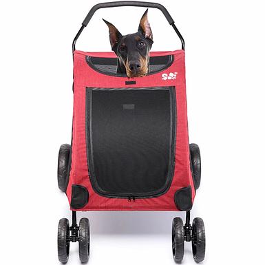 Pet Stroller Folding Seat 64*80*64cm