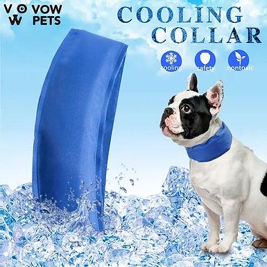 Pet Cooling Pad  Dog Collar Summer Cool