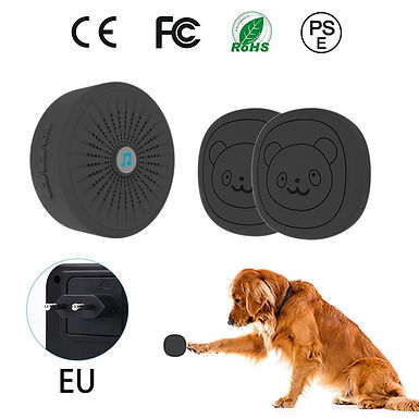 Dog Door Bell With Wireless Touch Dog Bells for Potty Training