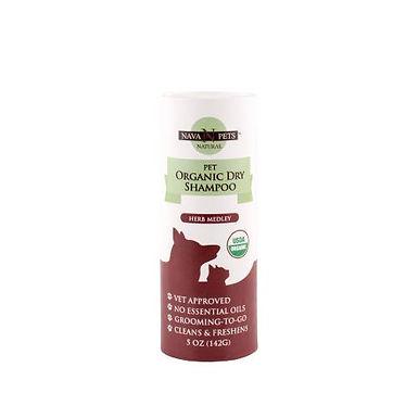 Organic Dry Pet Shampoo (Sensitive Skin), Herb Medley 5OZ