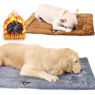 Pet Self Heating Mat  Super Soft Fleece Pet Mat Bed