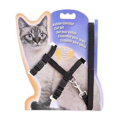 Nylon Cat Harness and Leash Set