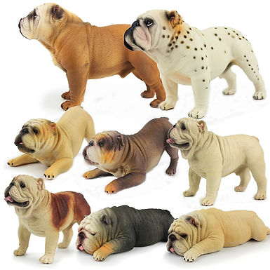 British Bulldog   Model Figurine Collection  Gifts