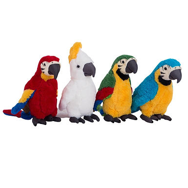 Cute Stuffed Parrot Excellent Quality