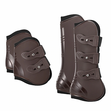 Adjustable Tendon Protection Front Hind Leg Boots