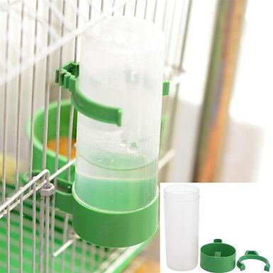 Plastic Bird Water Feeder  Durable Economic Practical Bird Cage Accessory