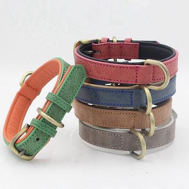 Adjustable Retro Leather Collar