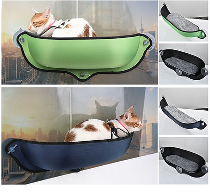 Cat Window Hammock With Strong Suction Cups